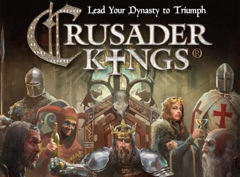 Crusader Kings the Board Game at SPIEL '18 – Prepare for a royal treatment!