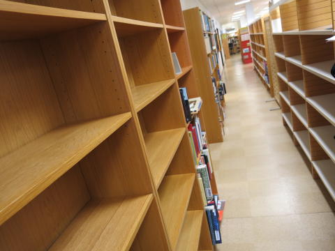 Flytten av Karlshamns Stadsbibliotek startar