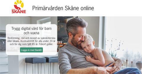 Region Skåne lanserar en ny digital tjänst för primärvården