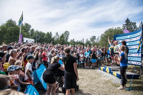 Frösö IF, kommande SM-arrangör, genomför SWE Cupavslutningen i XCO mountainbike i Östersund