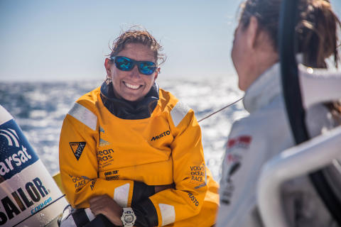 Bluewater signs a unique partnership with world-leading yachtswoman Dee Caffari as global brand ambassador