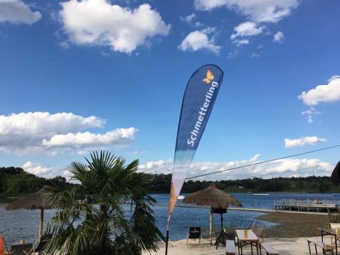 LMX Beachpartys 2017 - Schmetterling war mit dabei!