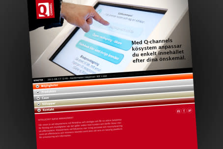 Q-channel lanserar idag en ny hemsida.