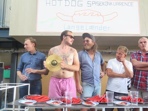 Ærø Dog Days - Hot Dog line up