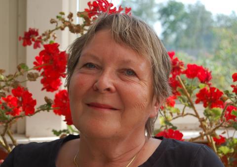 Helena Verghese Borg - vinnaren av Rosenkransen 2016 på Fredriksdal