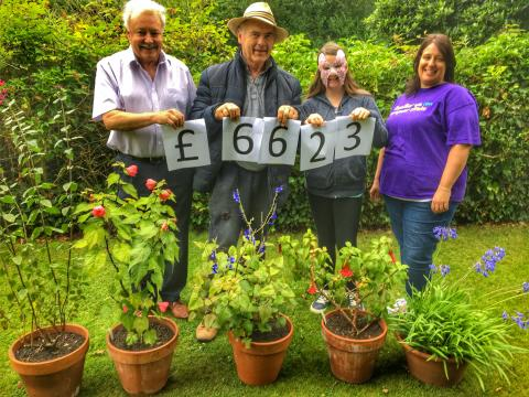 St Bernard's Open Gardens bloom for the Stroke Association