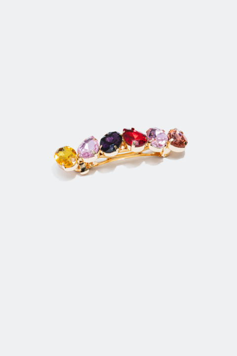 Hair Clip with glass stones