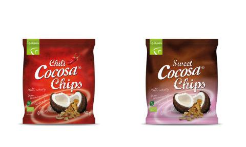 Cocosa Chips – två nya medlemmar i Cocosa-serien
