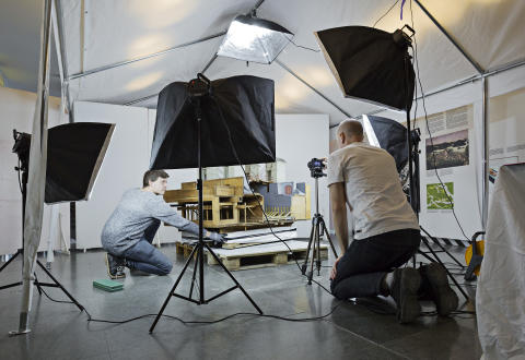 Ny utställning visar arbetet bakom kulisserna på Tekniska museet