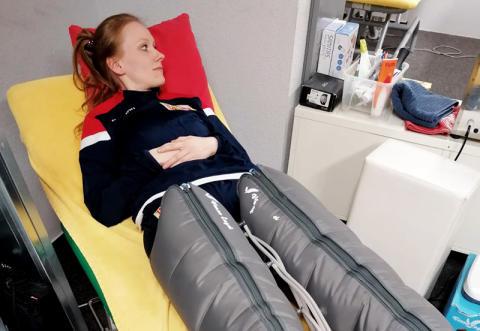 Studierende der Physiotherapie (B.Sc.) beim 1. FC Union Berlin