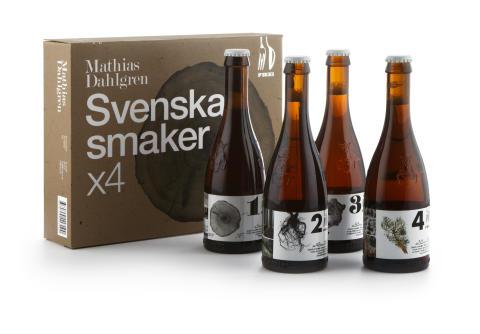 Fyra öl från Mathias Dahlgren