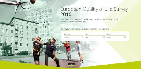 Quality of life improving in Europe, but progress undermined by persisting inequalities and growing uncertainty