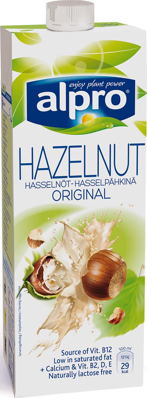 Alpro Hasselnöt Original