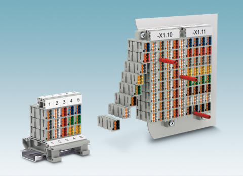 Modular marshalling patchboard concept with innovative colour coding system
