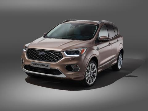 Ford presenterar nya Ford Kuga Vignale – en av modellerna i 2016 Ford Vignale Collection
