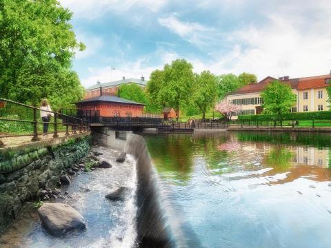 Välkommen till invigningen av faunapassagen vid Slottsbron/Turbinhuset