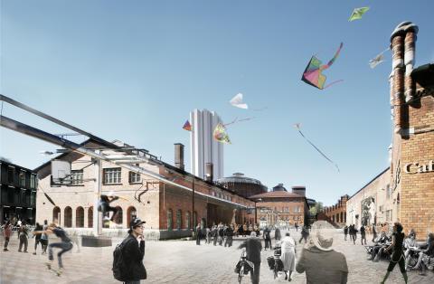 Stockholms stad bjuder in byggsverige till dialog om Norra Djurgårdsstaden på Nordbygg 2012
