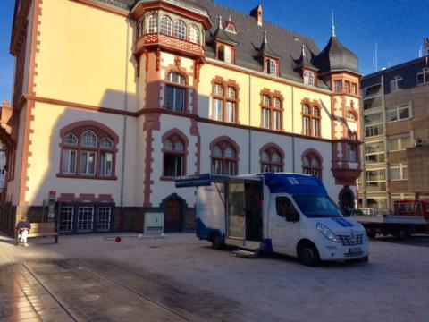 Beratungsmobil der Unabhängigen Patientenberatung kommt am 25. Mai nach Limburg a. d. Lahn.