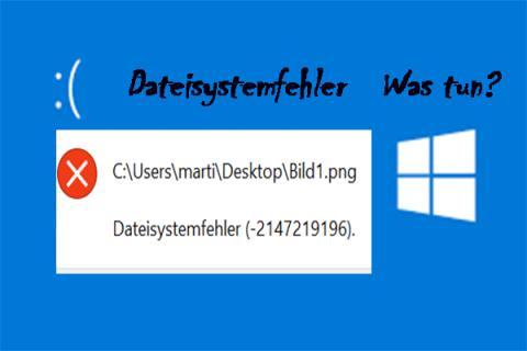 7 Lösungen für Dateisystemfehler -2147219196 [Lösung 3 funktioniert gut]