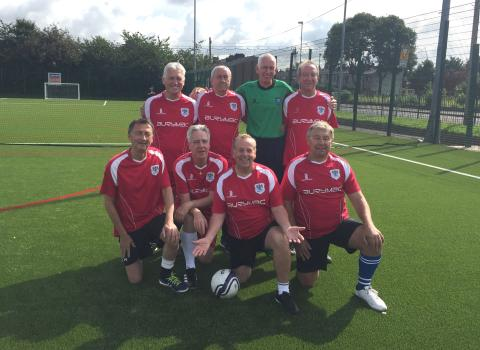 Take up walking football – you could be top of the league
