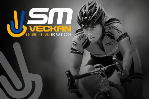 Dagsprogram för SM-veckan Borås 2014, 30 juni-6 juli