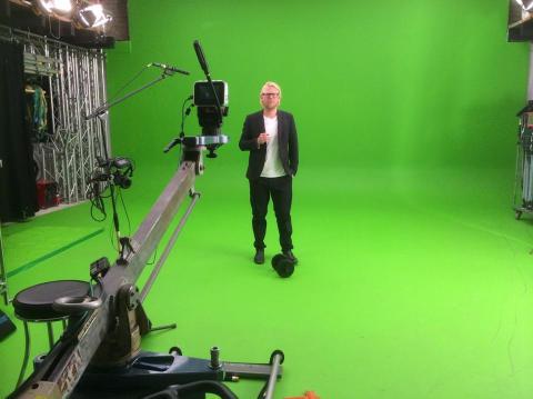Idag var det dags för filmning