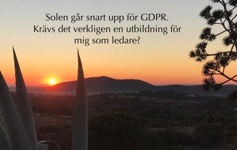 GDPR-utbildning