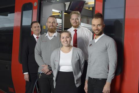 MTR Express Sveriges bästa tågbolag för tredje året i rad enligt Svenskt Kvalitetsindex
