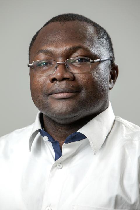 Luther Yameogo, landchef i Burkina Faso
