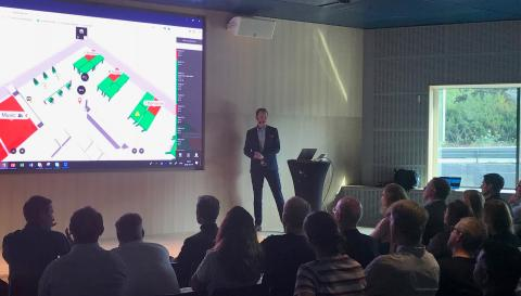 """Flowscape's CEO at ÅF morning session: """"This is what the future five-star workplace could look like"""""""