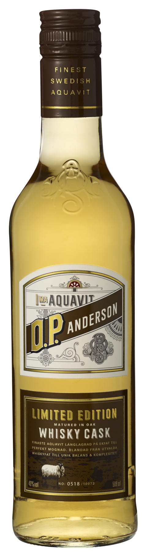 O.P. Anderson Whisky Cask