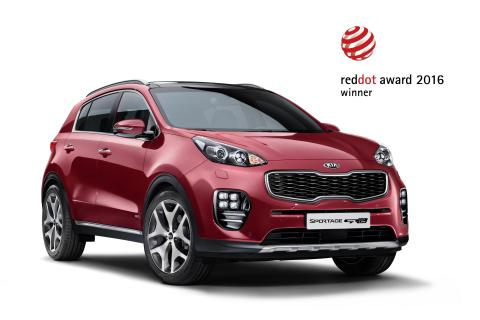 Kia Sportage Red Dot
