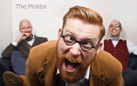 "The Mobbs: English Gent-Punk Trio Breakout with Fourteen Planks of Glorious ""Piffle!"""