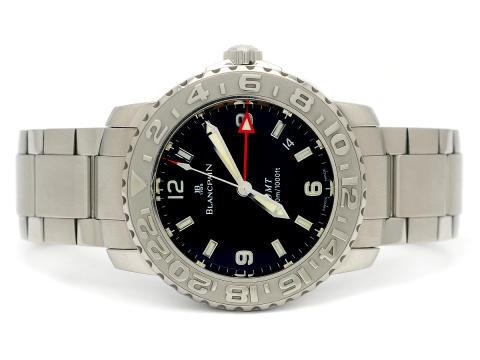 Klockor 3/8, Nr: 61, BLANCPAIN, Fifty Fathoms, GMT (300m/1000ft)
