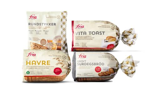Fria glutenfritt blir tilgjengelig i flere butikker