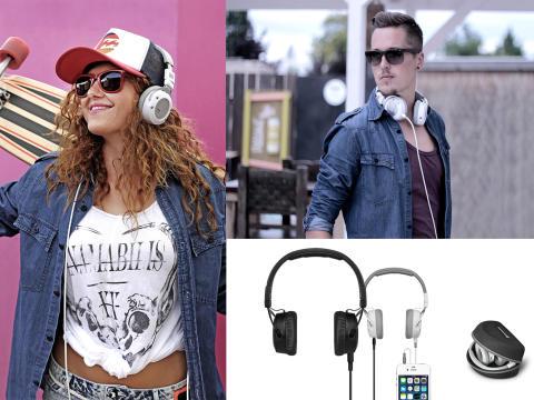 Få justérbar lyd og et nyt look hver dag med CUSTOM STREET hovedtelefoner fra beyerdynamic