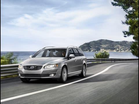 Volvo lanserar fyra nya miljöbilar för modellår 14