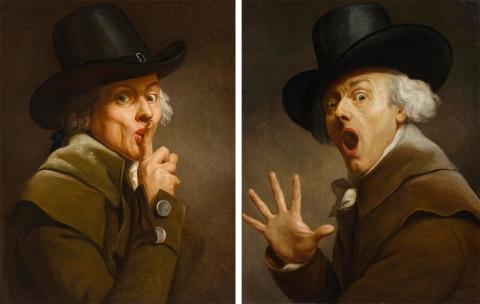 Nationalmuseum förvärvar två självporträtt av Joseph Ducreux