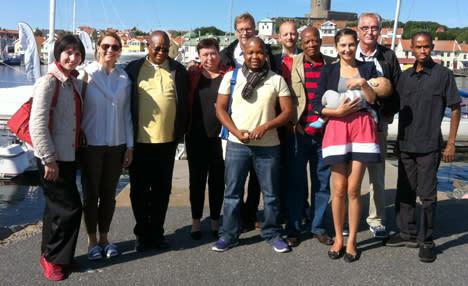 Besök från Botswana och Moldavien