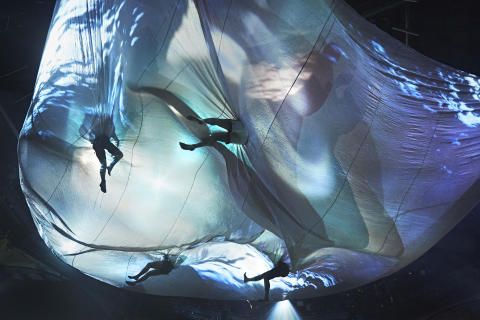 Föreställningen Borders visas i SVT