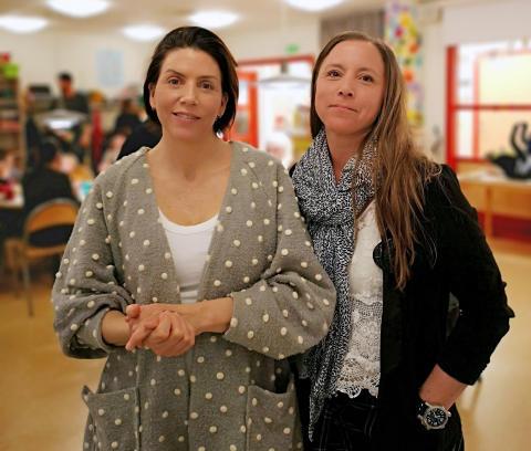 Lyckad språkträning för föräldrar på Öppna förskolan i Eslöv