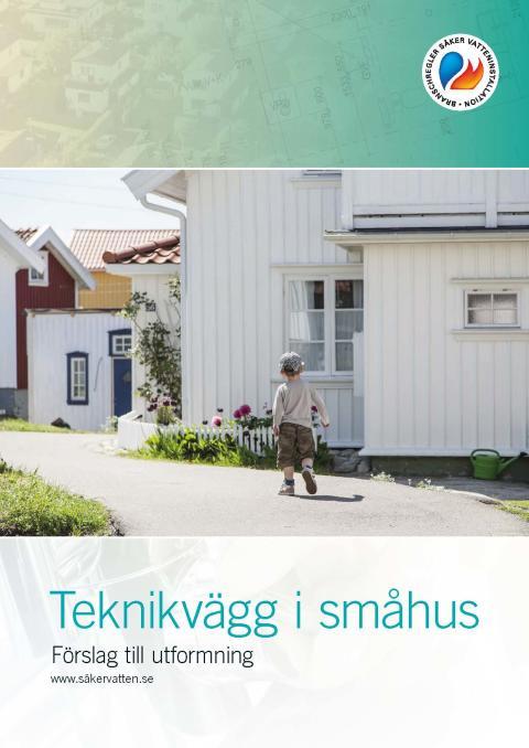 omslag Teknikvägg i småhus 2018