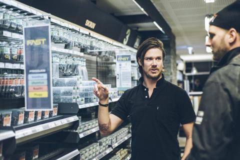 Byggmaterialhandeln i Södra Sverige nådde inte upp till förra årets rekordförsäljning