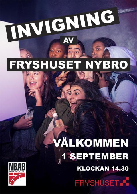 1 september invigs Fryshuset i Nybro Kommun