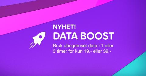 Telia Lanserer Data Boost: - Ubegrenset datamengde for tidsbegrensede perioder