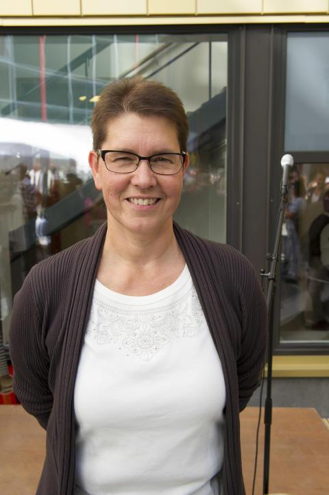 Ewa-Lena Sjöberg, verksamhetschef vid USÖ:s Akutklinik.