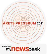 Nominerade till Årets Pressrum 2011