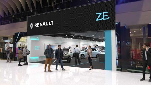 Renault Z.E. . Electrical Vehicle Experience Center