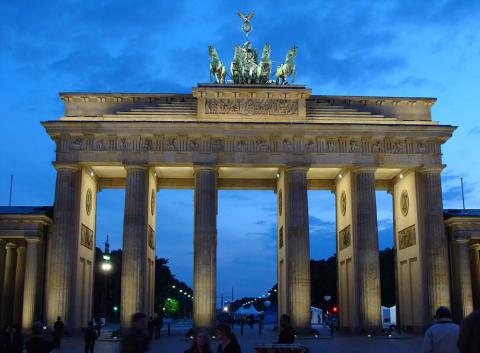 Brandenburger Tor, Berlin.