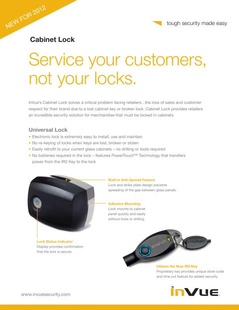 Varularm från Gate Security - InVue, Smart Lock - Universal Lock